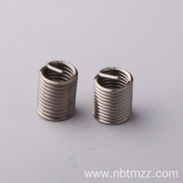Turning process SS m12 wire plated thread insert