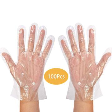 PE PVC Powder Free Disposables Gloves