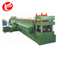 Steel highway guard rail roll forming machine