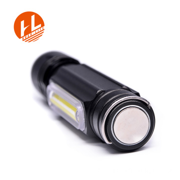 Rechargeable Tactical LED Small Flashlight with stand