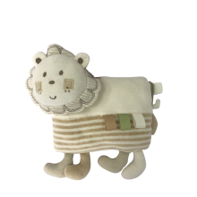 Plysch Lion Baby Pillow