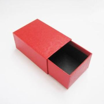 Red Sliding Drawer Box Packaging