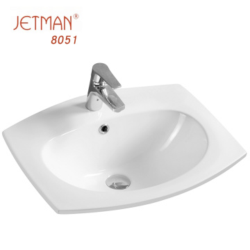 New modern ceramic sanitary ware wash bathroom face basin