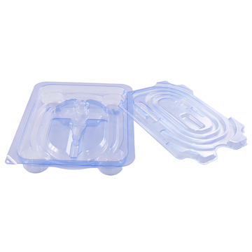 ISO13485 EO PET thermoforming medical blister tray