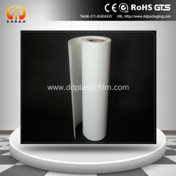 label industry white opaque Bopet film
