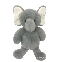 Plush Baby Elephant Gray
