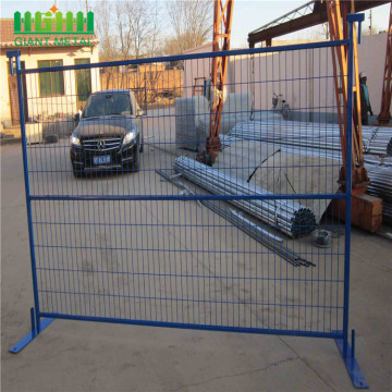 temporary welded powder coated fence