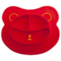 Heat resistant silicone mat baby food placemat