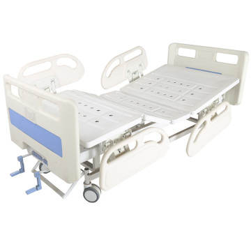 2 cranks manual asjustable hopsital bed equipment