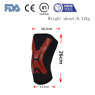 Fitness equipment training knee support