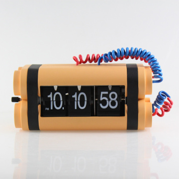 Bomb Flip Clock for Table Decor