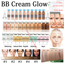 12pcs 5ml Whitening Serum BB Cream Glow Meso Brightening Serum BB Cream foundation Beauty Salon Cosmetic makeup liquid foundatio