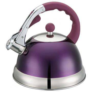 Household Purple Whistling Kettle
