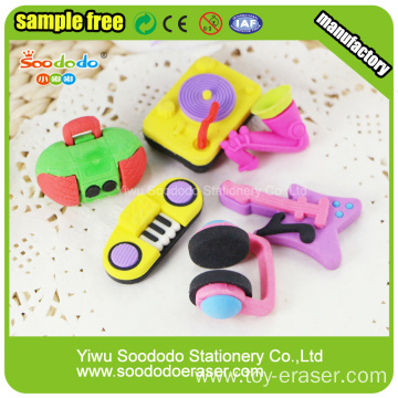 3D various customized animal shaped erasers