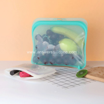 silicone food storage container kitchen cooking bag