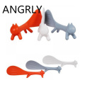 Non Stick Rice Cartoon Tablespoons Rice Paddle Meal Spoon Cute Squirrel Shaped Ladle Non Stick Rice Soup Spoon Kitchen Tools