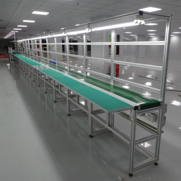 Industrial Pvc Belt Conveyors System Assembly Line