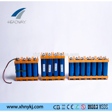36v 48v lithium ion battery 10ah for e-scooter