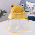 Yellow Frog Anti-droplet Hat for Children