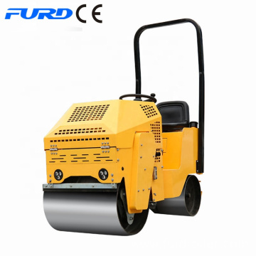 Mini road roller compactor double drum soil compactors roller  FYL-860