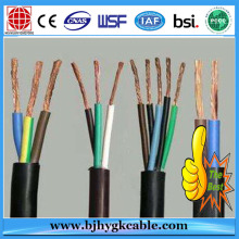 Silicon Rubber Flame Retardant Control Soft Cable 450/750V