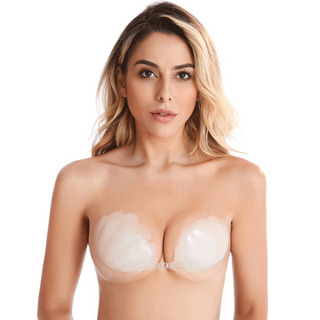 Silicone Strapless Push Up bra