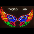 ANGEL WINGS 2 LED NEON ILLUMINATED SIGNAGE