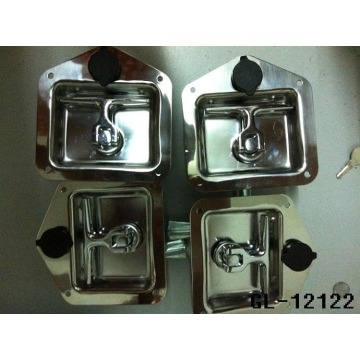 Recessed Floding T Handle Spring Latch