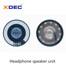 Big size 57mm neodymium 32ohm 30mW headphone speaker