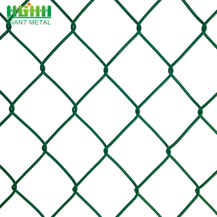 Factory Direct Diamond Hole Size Chain Link Fence