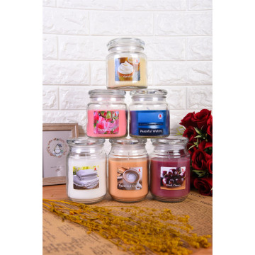 18 oz Scented Candle in Glass Jar