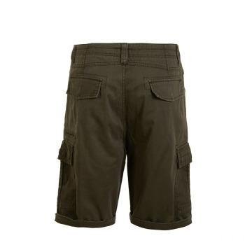 Men's Multi-pockets Woven Cargo Shorts