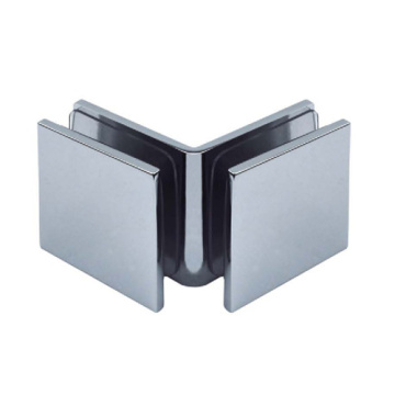 Glass to Glass Stainless Steel Clamp