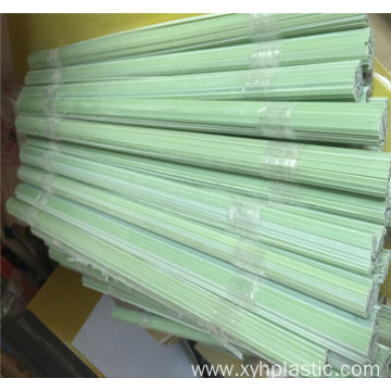 Smooth surface green FR4 fiberglass flat strip