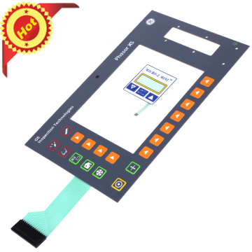 2018 new hot sales membrane switch keypad