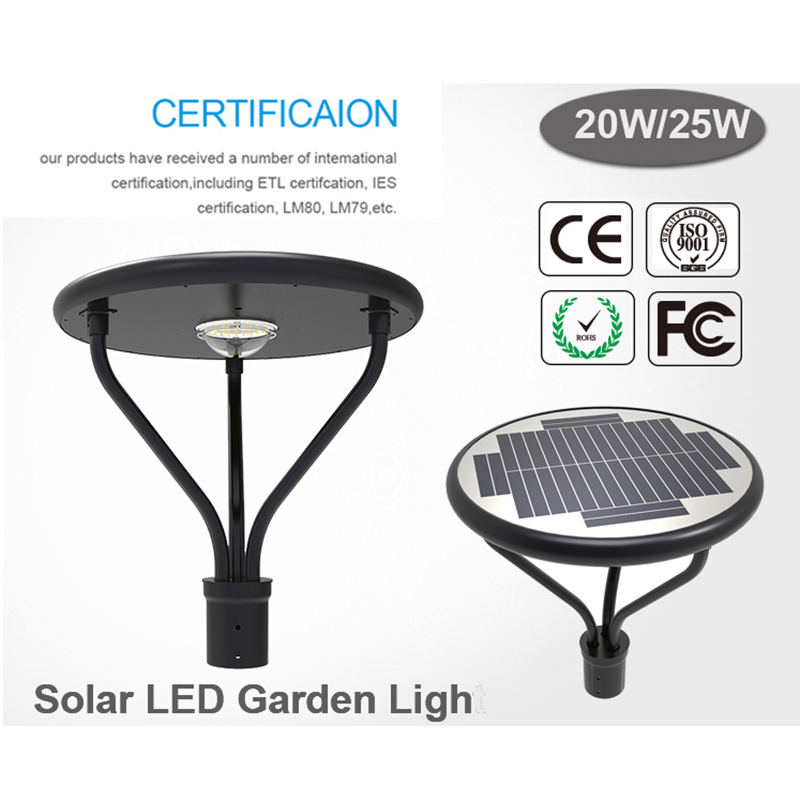 Commercial Solar Light Post