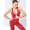 sexty exercise outfit for ladies hollow out