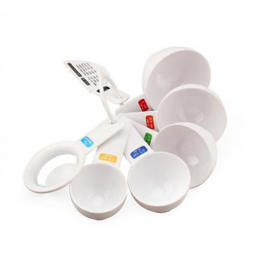 6-Piece Plastic Measuring Spoon Set
