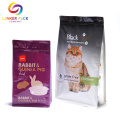 Moisture Proof Top Flat Bottom Dog Treat Packaging
