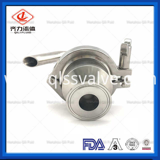 Sanitary Stainless Steel Air Release Valve 5