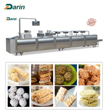 Nut snack bar compression molding line