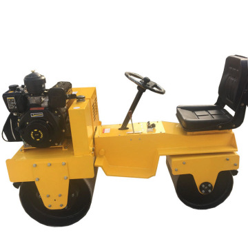 vibratory tandem road roller compactor machine