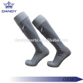 Cotton Stripes Long Blue Soccer Socks