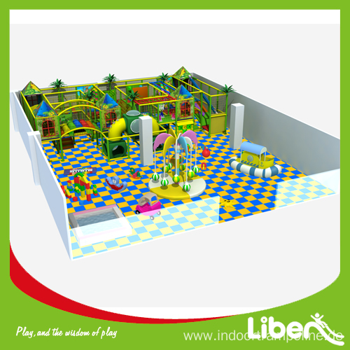 Children indoor play structures