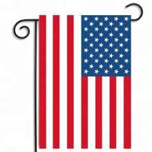 Custom outside American garden yard banner flags