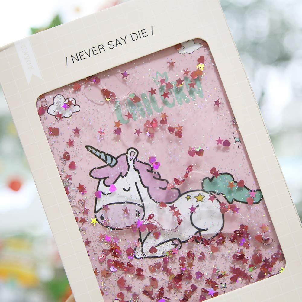 Unicorn Sequins Liquid Notebook 1