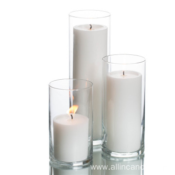 Wholesale Big size church white pillar candle