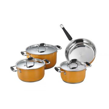 Casting 7pcs cookware sets HK