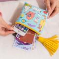 Strange Uncle Leisure Bag Blame Sorghum Harajuku Large-Volume Coins Tassels Wallet women wallets