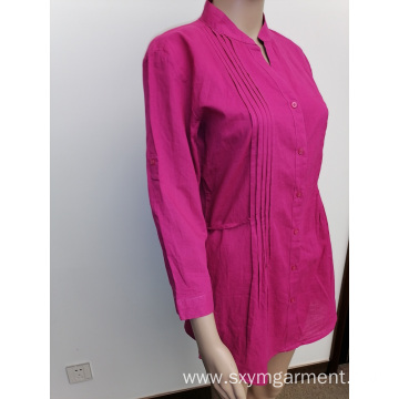 Ladies cotton voile tunic